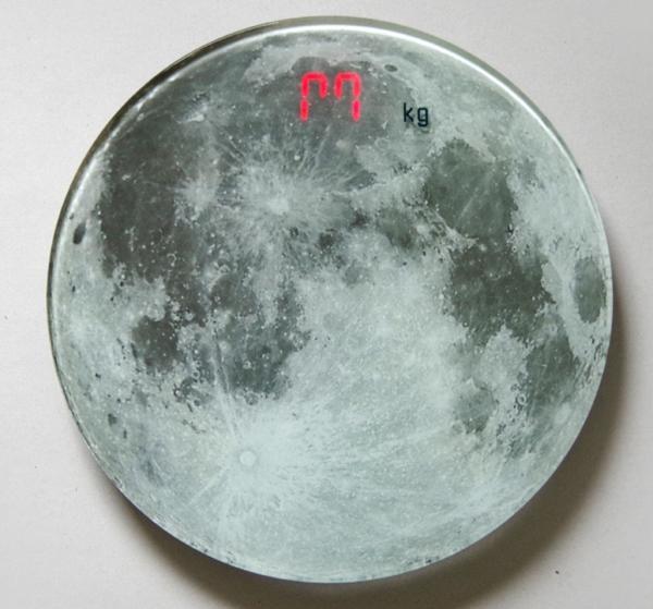 ムーンスケール/月面体重計