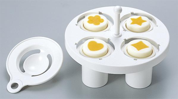 キャラ弁当デコ弁当 不思議なゆで卵作り器