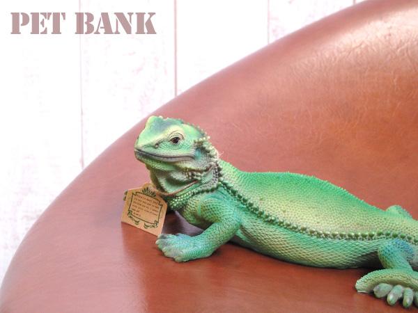 ペットバンク イグアナ貯金箱