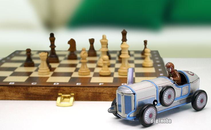 アンティーク・ブリキおもちゃ/クラシックレーシングカー