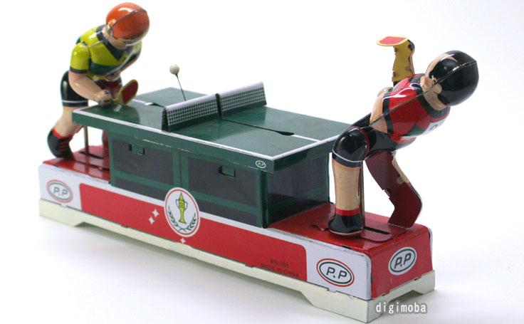 アンティーク・ブリキおもちゃ/ピンポンラリー